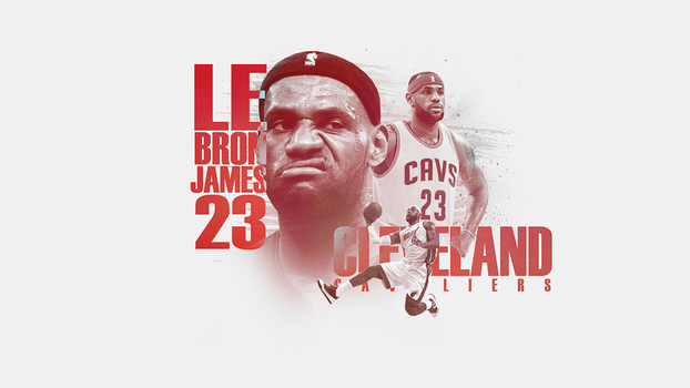 Lebron James Wall by LuchinoDA