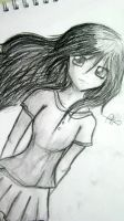 Charcoal Girl by redhotcinnamontwist