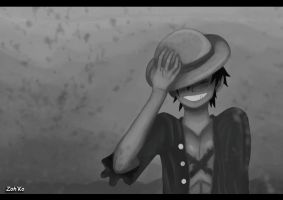 Luffy by Zohko