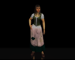 Wench, peasant girl Render by bosman697