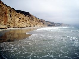 Torrey Pines Cliffs by AztecTemplar