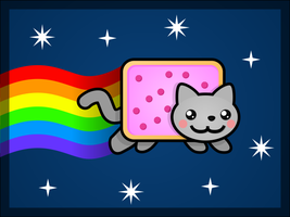 NYAN CAT by marcphx