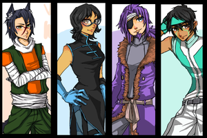 JAGO: Future AU (Group) by MrDak3000