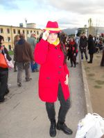 Carmen Sandiego - Lucca Comics 2012 by Groucho91