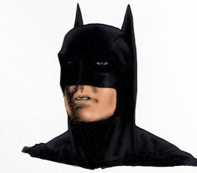 George Clooney Batman  by wesmikemccool
