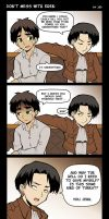 Don't Mess with Eren by J8d