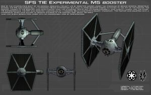 TIE Experimental M-5 Booster ortho [New} by unusualsuspex