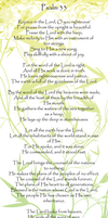 Psalm 33 by AngelLover89