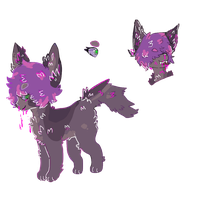 dog zombie auction by puppups