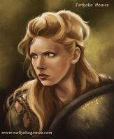 Lagertha by nathaliagomes