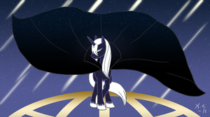 MLP FSIM Starshower Ends World by The-Clockwork-Crow