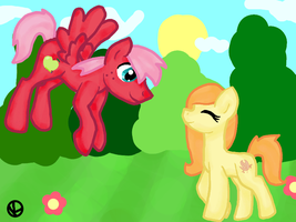 DTA Entry Fluttermac's kids by Honey-PawStep