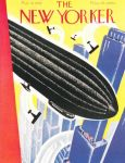 The New Yorker-Airship Cover by peterpulp