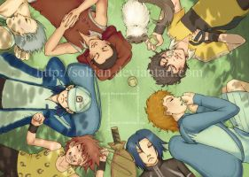Prince of Tennis Sleepyheads by soltian