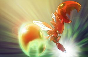 Scizor strikes back by JARV69