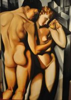 Lempicka 2 - Adam and Eve by JALpix