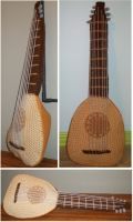 Kvothe's Lute by GoldenEnigma