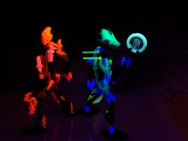 The Bionicle Ravers 2 by hydr0ph0en1x
