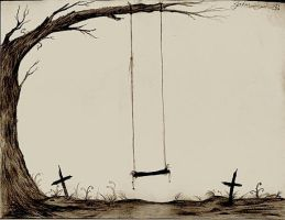 Graveyard Swing-Set by Zane-The-Mudfish