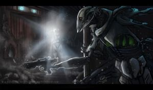 Lair of Grievous by phantos