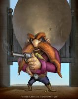 Yosemite Sam, by DaviddLeonLuis VIDEO by Daviddleonluis