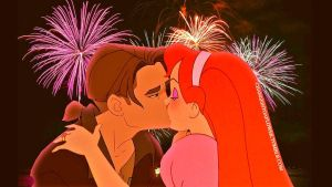 Jim/Thumbelina New Year 2013. by angeelous-dc
