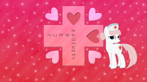 Nurse Redheart wallpaper by JamesG2498
