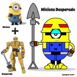 [Original]Minions Desperado by lun616