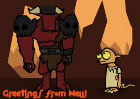 Greetings from Hell by Vahki530