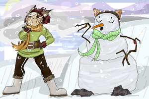 {DAVille} Chilly Winter Festival by Jeiynx
