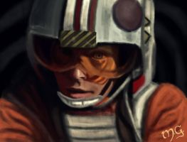 The Force is strong with this one by wolfieous
