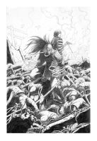 HonorOfTheDamned issue2 cover by werder