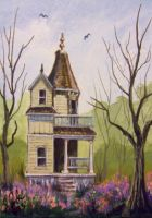 ACEO Hidden Charm by annieoakley64