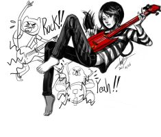 marceline no color by oke0301