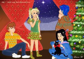 Santa will come tonight by Sweet-Amy-Leah