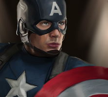 Captain America by ArchXAngel20