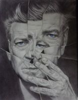 David Lynch portrait by odd-kid