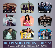 TV Series - Icon Pack 37 by apollojr