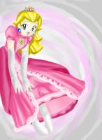 Princess Peach by LadyGemini