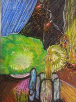 Art Class Project - Oil Pastel Still Life by Geckogirl315