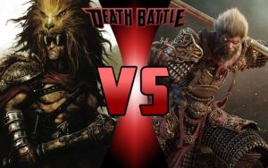 DEATH BATTLE: Heracles vs Sun Wukong by G-Odzilla