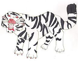 White tiger by musas2