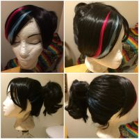 Wyldstyle wig from the LEGO MOVIE by taiyowigs