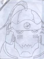 Alphonse Elric .:sketch:. by kirbygirl4223