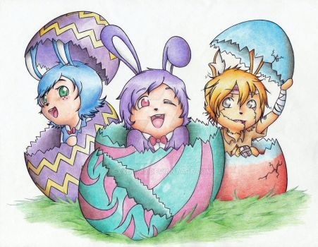 Happy Easter by ExxDxx13