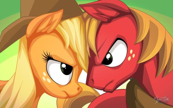 AJ vs Big Mac by mysticalpha