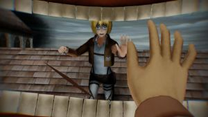 We can't die here..can we,Armin? by hetalia-fanart