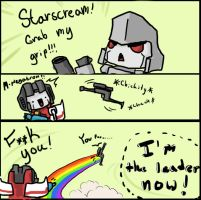 Starscream you fool by RockyDee
