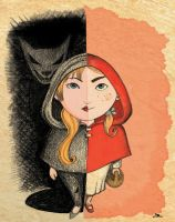 Little Red Riding Hood by OminoFocaccina