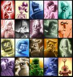 The Great Wall of Futurama by MissusPatches